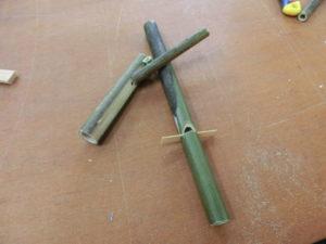 メダケで作る笛