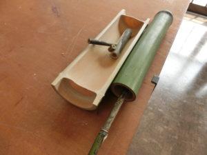 タケで作った器、笛、水鉄砲